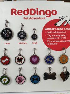 RedDingo Pet Tags